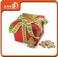 elegant christmas decorative cute fancy large red gift box