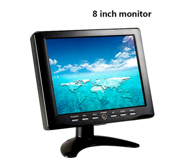 "Alibaba High resolution 8"" inch 4 wires touch monitor with VGA YT808"