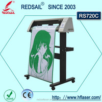 Practical REDSAIL RS720C vinyl cutting plotter with free software and practicability