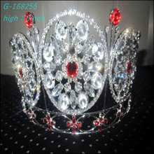 Wholesale hot sell beauty queen diamond pageant crown