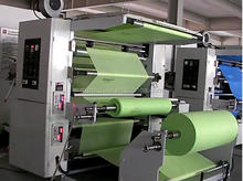 QTL Type high speed 2 colors NONWOVEN FABRIC BAG FLEXO PRINTING MACHINE