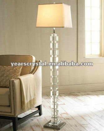 Home decoration Tall crystal table lamp