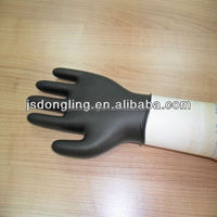 power free CE&ISO certified disposable butyl rubber nitrile examination gloves