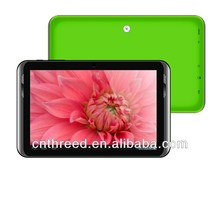 mini tablet phablet 9inch tablet pc 3g dual sim card slot phone call bluetooth gps mtk6572 dual core android4.2