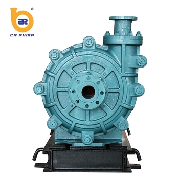 diesel single suction abrasive resistance pump for coal