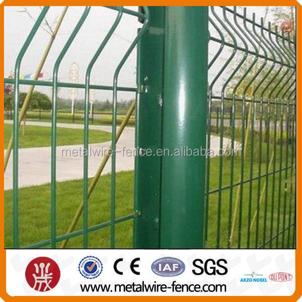 PVC Sprayed/Coated Road Mesh Fence for construction fence
