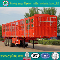 China Manufacturer Stake Semi Trailer Truck for sale with good price