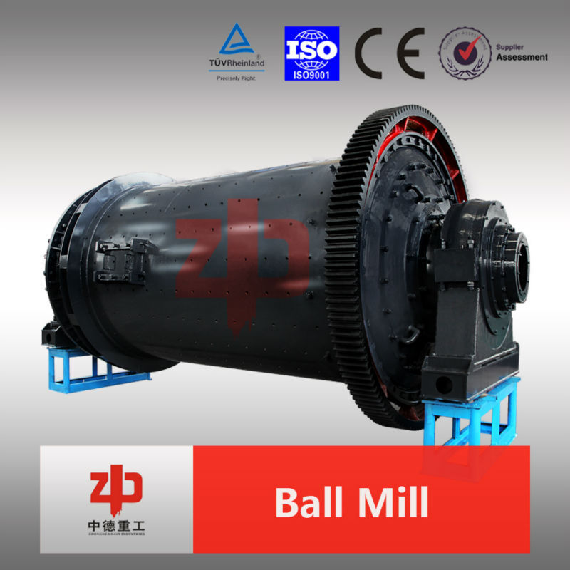 Wide application mineral processing ball mill both dry and wet grinding types available