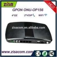 Good supplier Gpon catv ftth onu wireless 4 ports onu/ont wifi modem