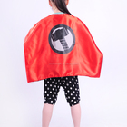 2017 New Design Personalized Superhero Cape for Kids Halloween Party Costume Capes
