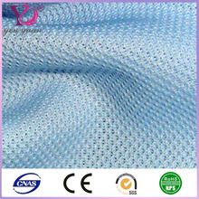 Polyester mesh fabric functional Fabric for garments and t-shirt
