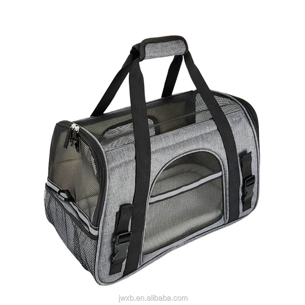 Perfect Pet Travel Carrier, Airline Approved, Soft-Sided for Small Dogs and Cats