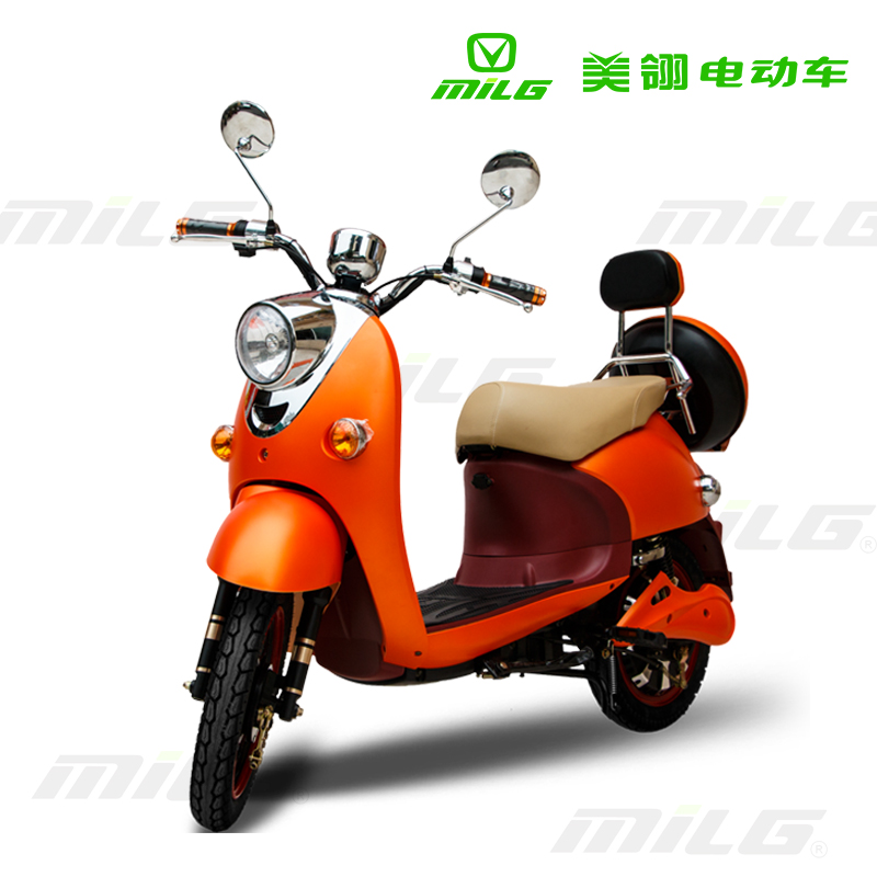 450w mini pedal start electric scooter moped for lady