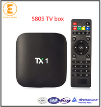 player video full hd media player S805 Android 4.4 Tx1 Tv Box