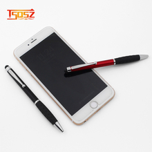 Wholesale company logo custom stylus touch ball pen and screen touch pen