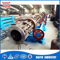 China factory made concrete electrical pole steel mold with production line wholesale