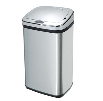 automatic  hygiene rectangular movement sensor dustbin