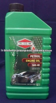Synthetic petrol engine oil