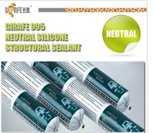Weatherproof Structural Glazing Glass Silicone Sealant