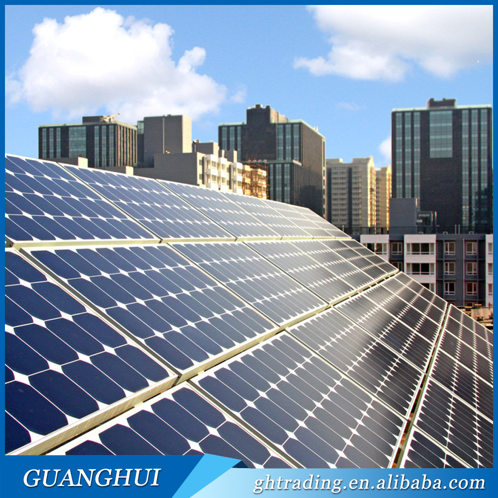 2017 Chinese supplier A grade 250w polycrystalline poly photovoltaic solar panel