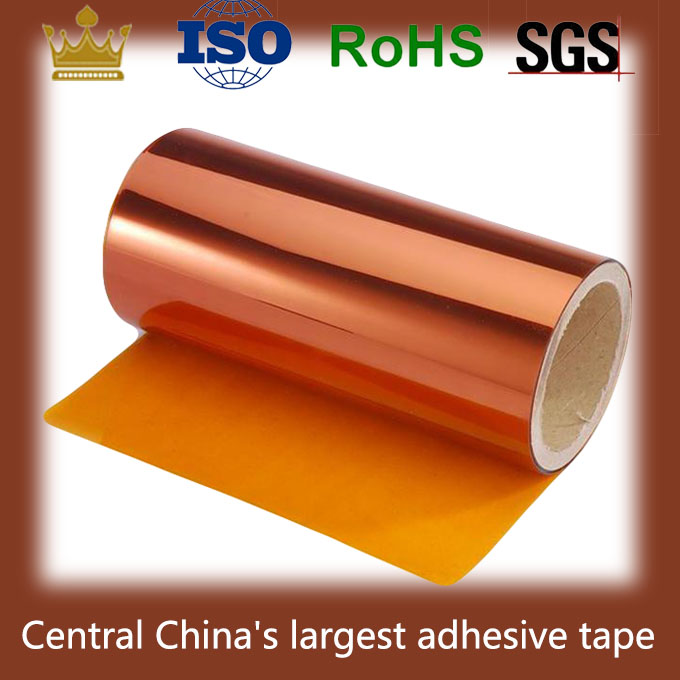 Anti-static (ESD) treated polyimide film coated with heat-resistant silicone adhesive tape