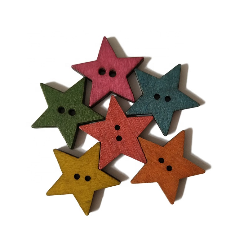 DIY Wood Material Small Pentagram Shape Slice For Christmas <strong>Crafts</strong>