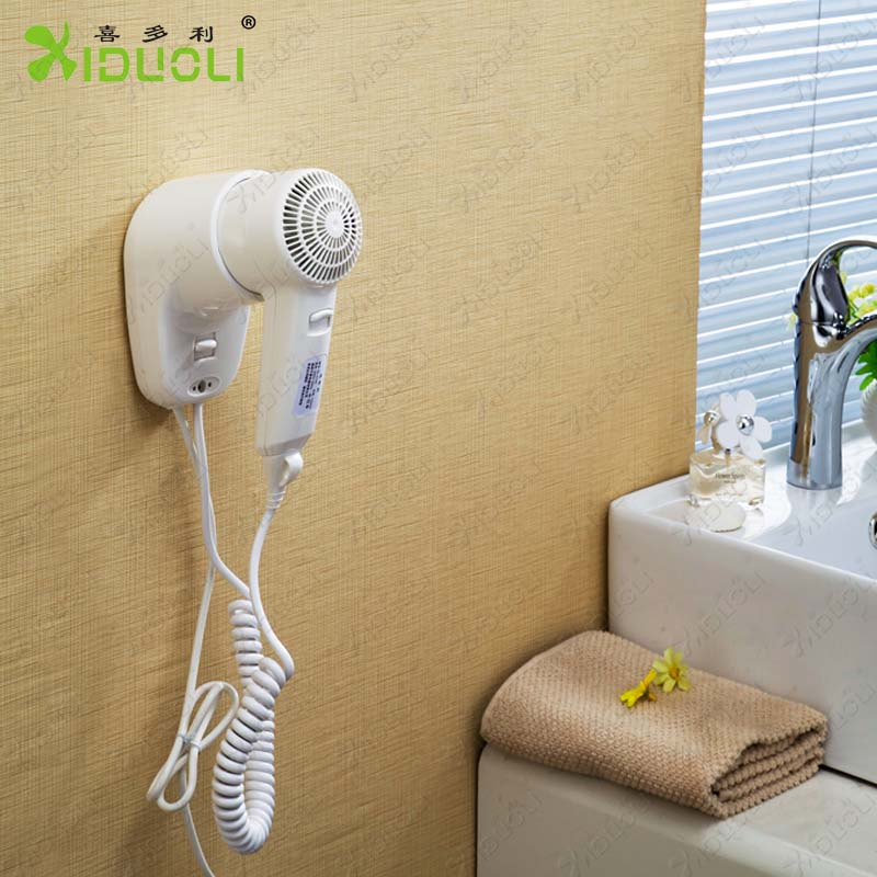 2014 Hotel hot sell wall mounted hair dryer xiduoli wenzhou hairdryer