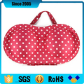 red portable eva bra bag case box with handle