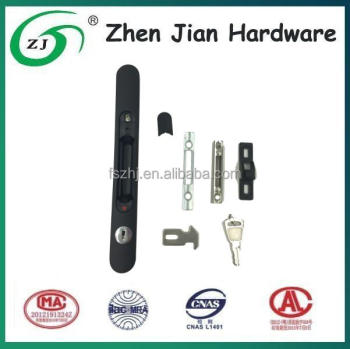Security zinc sliding door lock for patio door B129K