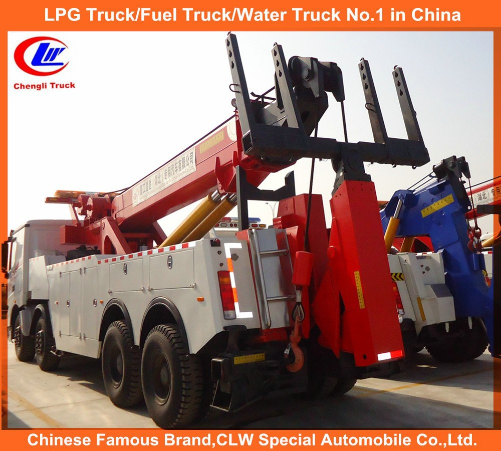 heavy duty 16ton towing truck road recovery China wrecker howo 25ton tow truck
