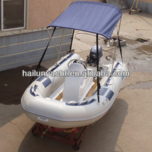 Fiberglass fishing boats with Yamaha boat engine HLB380B