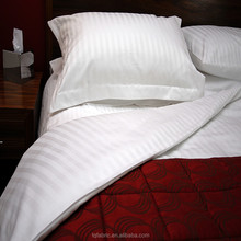 hotel white Egyptian percale cotton bed linen fabric/hotel sheeting material