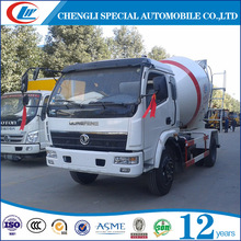 Dongfeng high quality 4cbm volume mini concrete mixer truck