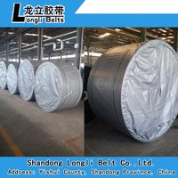 concrete rubber conveyor belt