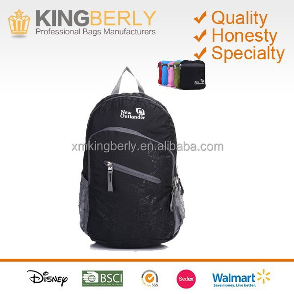 Cheap Waterproof Foldable Nylon <strong>Backpack</strong>, Handy Lightweight Travel <strong>Backpack</strong> Daypack