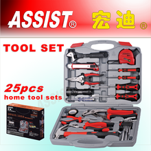 hand tools 25PCS ,tool set, aluminium case hand tool set