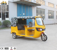 New Style Good Quality bajaj type Low Price Electric Rickshaw tricycle