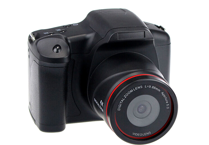 HD 12mp DSLR similar digital camera with 2.8'' TFT display and 4x digital zoom