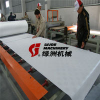 PVC film gypsum ceiling tile laminating machine/equipment/plant