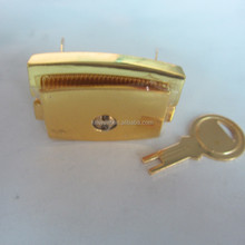 Mini flat Zinc Alloy box Key latch For Wholesale Cheap Factory Price
