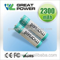 1.2v 2300mah R6 AA nimh battery for toy