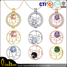 Hot Sales United States HOPE Gold Coin With Crystal, Customize FAITH Challenge Coins Pendant Necklace