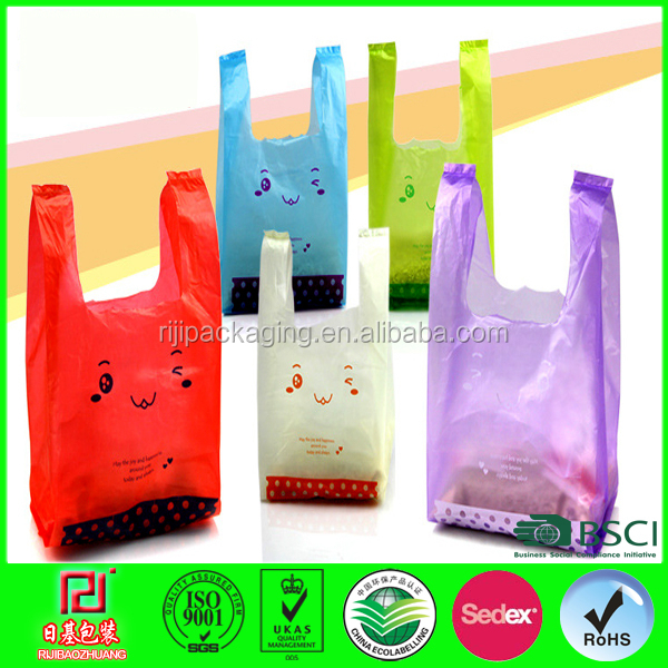 food grade hdpe plastic bags reusable grocery bags for shopping