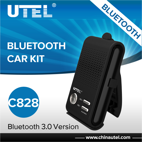 C828 Bluetooth handfree bluetooth earphone headphone car kit