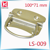 zinc plating chest box durable recessed pull handle LS009