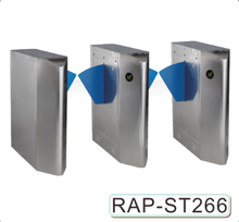 304 stainless steel security flap barrier,automatic swing flap barrier gate