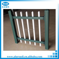 Decorative indoor fencing aluminium solid garden fence