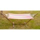 Single Size Steel Tube Hammock Stand with Bed outdoor hanging bedroom lounge sling reclining chair