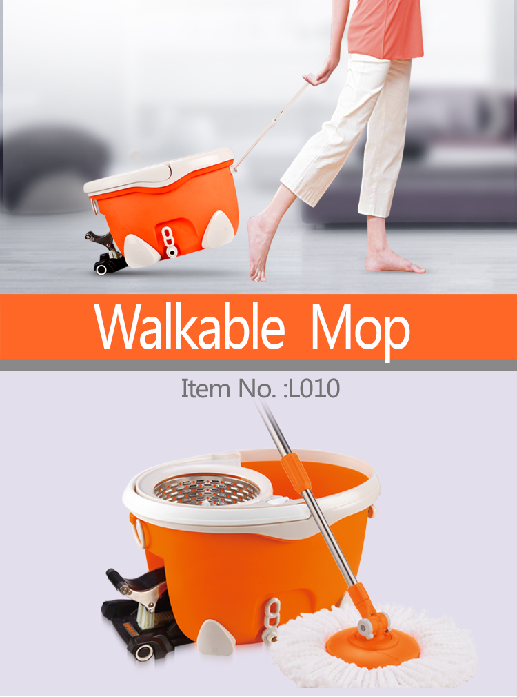 2019 Best Selling Double Drive Microfiber 360 Spin magic home cleaning Mop