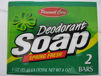 Personal Care Spring Fresh Deodorant Skin Care Natural Soap